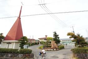西大寺キリスト教会全景