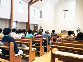 長崎バプ礼拝