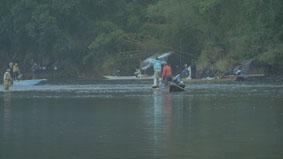 落ち鮎漁1