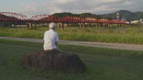 夕日の赤鉄橋
