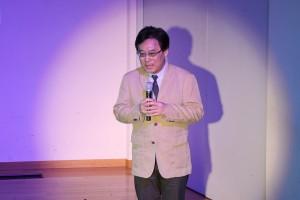 JIFHの田村治郎総主事が活動報告した(写真提供:胎中規久馬氏)