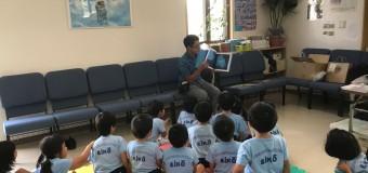 沖縄 教会とキリスト教書店がコラボ 園児に絵本の読み聞かせ