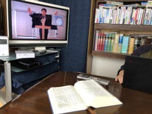 3月15日号紙面:【新型コロナ】礼拝中止 動画配信し各家庭で礼拝する教会も