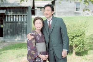 空知集治監の教誨師として新たな暮らしを始めた留岡幸助と夏子 (C)現代ぷろだくしょん