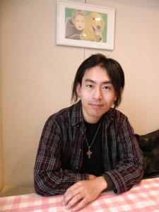"""クリスチャン・メタルバンドIMARI ToNEのリーダーを務める中峯""""Tone""""崇裕さん。"""