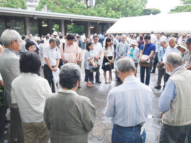 8月27日号紙面:学校現場で恐怖刷り込み 千鳥ヶ淵「8・15平和祈祷会」で現役教員が証言