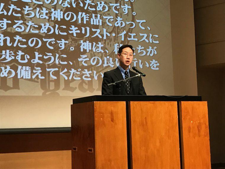日本福音主義神学会開会 「3つの...
