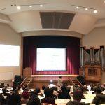 「脱原発と核兵器廃絶をめざして」桜美林大学で講演