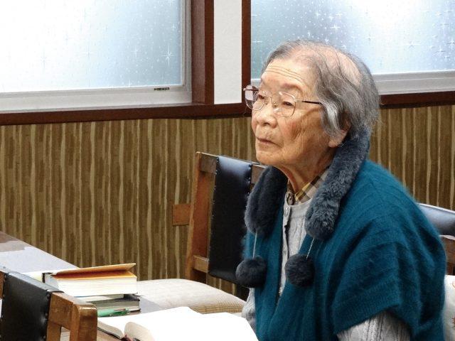 福音版2月号:今月のひと ─教会に通い続けて百歳を迎えた 乙部キミ さん