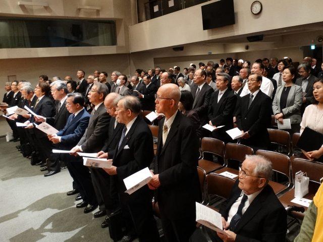 日本福音同盟創立50周年 関係者招きお茶の水で感謝会