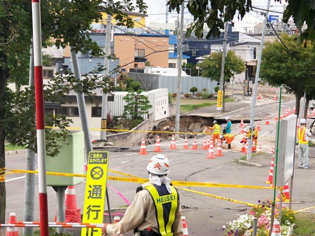 9月23日号紙面:土台陥没、壁に亀裂、液状化 道南、札幌清田区に集中 北海道地震 教会被害状況明らかに