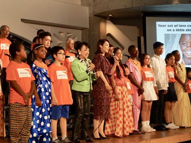 混迷の世界でも「何かはできる」  ワールドビジョンジャパン 30周年記念集会 ルワンダ、フィリピンからチャイルドも来日