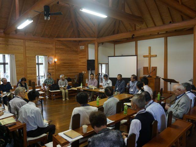 点から線、面に     共にいること  福島宣教ネットワーク会議を構築