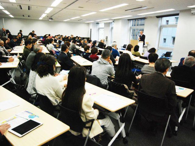 12月9日号紙面:受検者のべ534人、第1級受検者30人 聖書検定を国民運動に 公式テキスト著者 鈴木氏記念講演