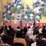 3月24日号紙面:「すべての人の祝福となる人生を」 100回記念熱く福音語る 50周年記念大阪レディーズランチョン