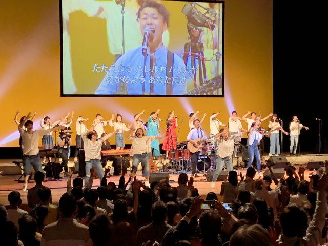 参加者1,400人が主を賛美 TORCH夏の陣開催