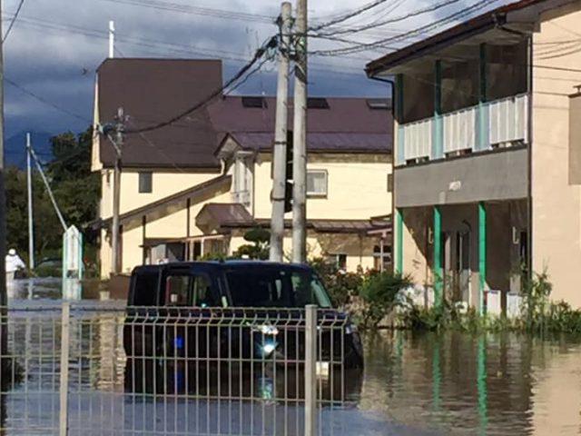 床上82センチ グランドピアノは鍵盤まで浸かる ミッション東北・須賀川めぐみキリスト教会