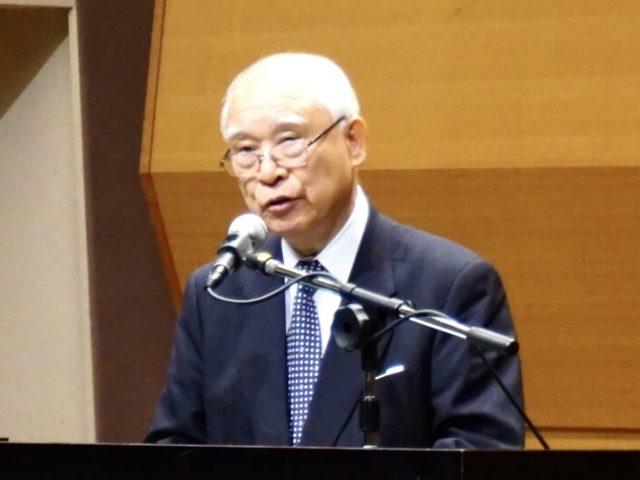「予定論」の心 牧田氏が講演 ドルトレヒト信仰規準400周年記念