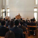 2月23日号紙面:各地で2・11(信教の自由を守る日)集会 日本国憲法の枠組み立憲主義が危ない 福音の希望にとどまるために 日本キリスト改革派西部中会2・11集会