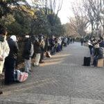 1月24日号紙面:コロナ禍で路上生活者支援  形態、食料提供の仕方変え超教派で支援活動を継続 代々木公園通路チャペル