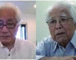 信州夏期宣教講座「戦争体験に聴く」 結城氏、登家氏